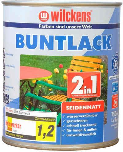 Wilckens Farben Holzlack »2in1 Buntlack seidenmatt«, umweltfreundlich