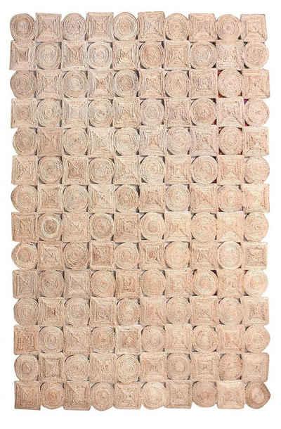 Teppich »Wegbegleiter«, KUNSTLOFT, rechteckig, Höhe 10 mm, handgefertigter Läufer aus robusten Material