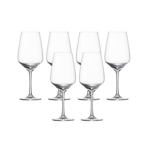 SCHOTT-ZWIESEL Gläser-Set »Taste«, Kristallglas