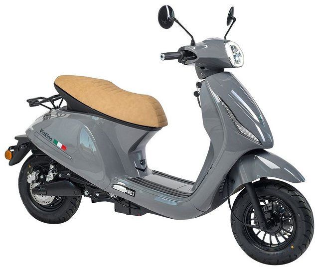 GT UNION Elektroroller »eViaRino 45«, 2000 W, 45 km/h, 20 Ah, Sitzbank: braun*