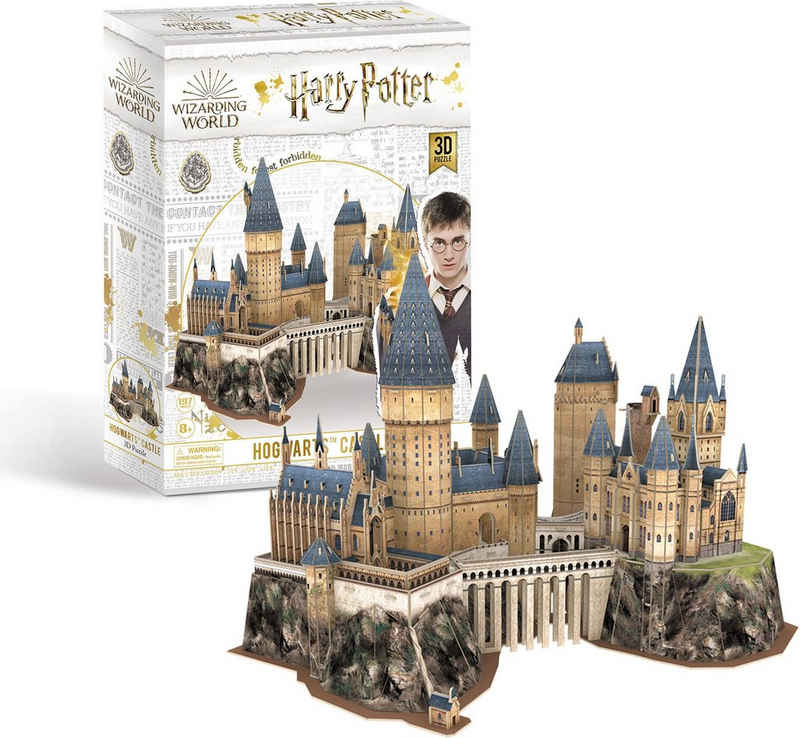 Revell® 3D-Puzzle »Harry Potter Hogwarts™ Castle, das Schloß«, 197 Puzzleteile