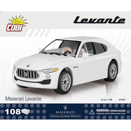 COBI Konstruktionsspielsteine »Maserati Levante Auto Fahrzeug 24560«