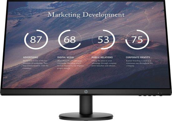 """HP P27v G4 HSD-0068-V LCD-Monitor (68,6 cm/27 """", 1920 x 1080 Pixel, Full HD, 5 ms Reaktionszeit, 60 Hz)"""