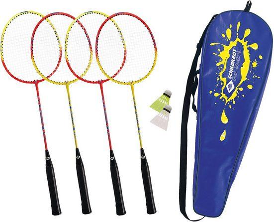 Schildkröt Funsports Badmintonschläger »Schildkröt-Funsports Federball Set 4-Player«