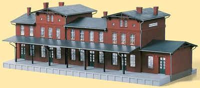 Auhagen Modelleisenbahn-Gebäude »Bahnhof Neupreußen«, Spur H0, Made in Germany