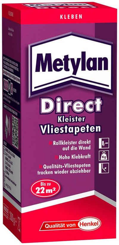 Metylan Tapetenkleber »Direct«, (Set), für Vliestapete, gebrauchsfertig