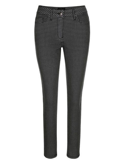 Hosen - Amy Vermont 5 Pocket Jeans mit Hahnentrittmuster ›  - Onlineshop OTTO