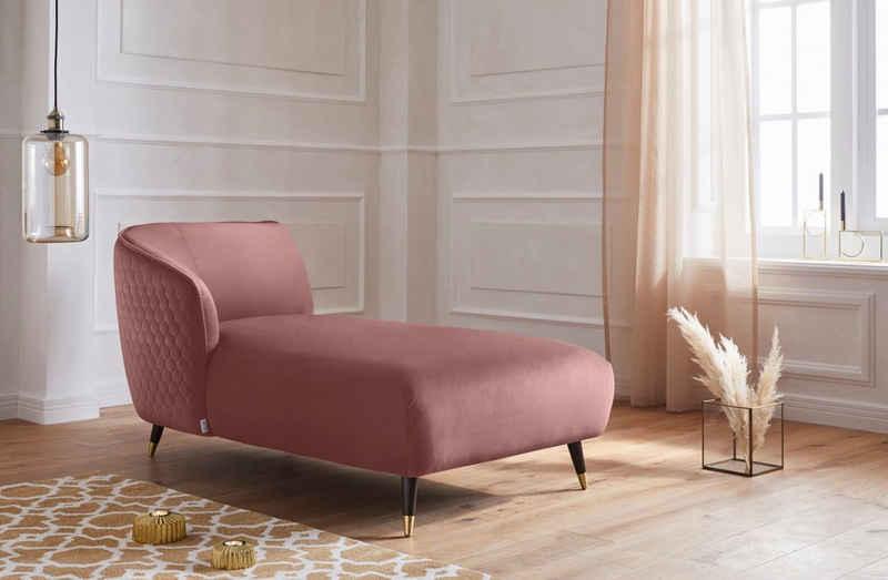 Guido Maria Kretschmer Home&Living Recamiere »Oradea«, mit eleganter Steppung auf Rückseite der Rückenlehne
