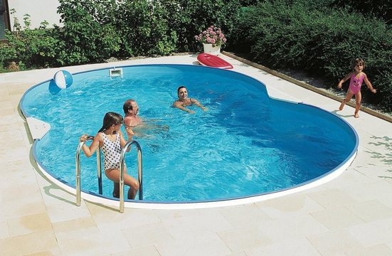 Clear Pool Achtformpool (Set)