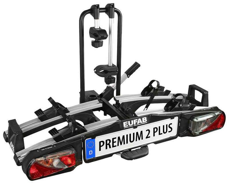 EUFAB Kupplungsfahrradträger »PREMIUM 2 PLUS«, für max. 2 Räder, abschließbar