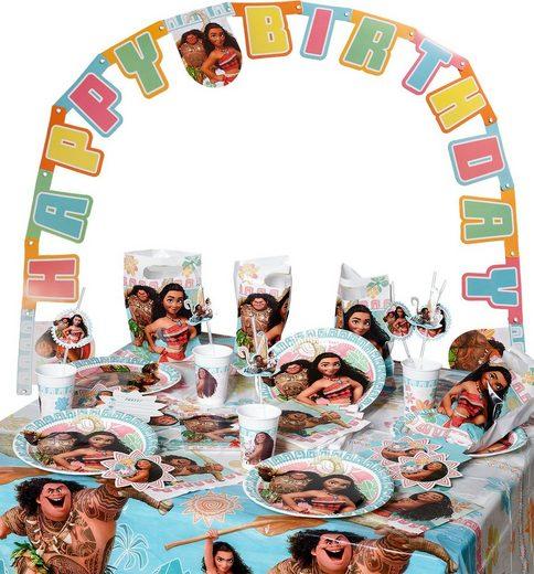 Procos Kindergeschirr-Set »Partyset Hello Kitty Hearts 56-tlg.«