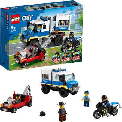 LEGO® Konstruktionsspielsteine »Polizei Gefangenentransporter (60276), LEGO® City Police«, (244 St), Made in Europe