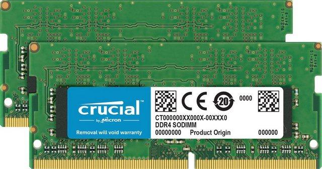 Crucial 16GB Kit 2 x 8GB DDR4-2666 SODIMM Memory for Mac Arbeitsspeicher