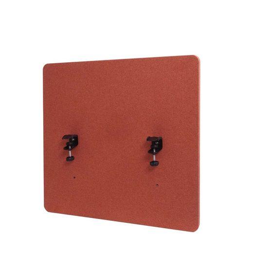 MCW Stellwand »MCW-G75«, Büro-Sichtschutz, Pinnwand, doppelwandig, Inkl. Anbringungen, Schalldämmend