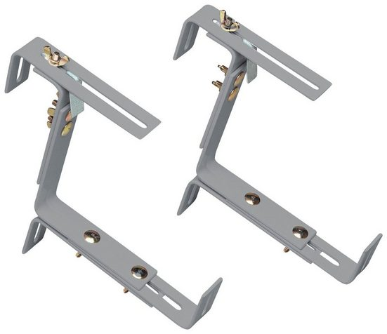 EMSA Blumenkastenhalter »VARIO«, aluminium