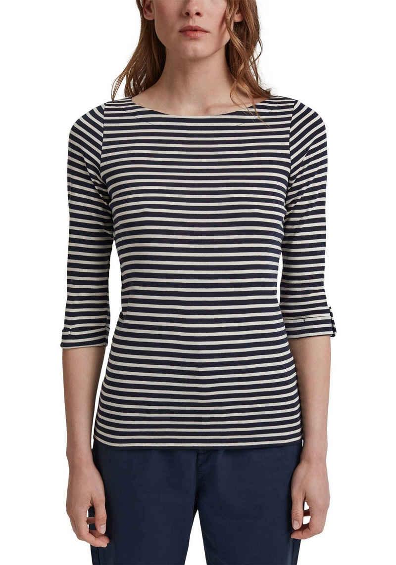 Esprit 3/4-Arm-Shirt aus Bio-Baumwolle