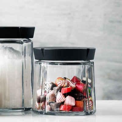 Rosendahl Aufbewahrungsbox »Aufbewahrungsglas GRAND CRU 0.5L«, Glas, Kunststoff (lebensmittelecht)