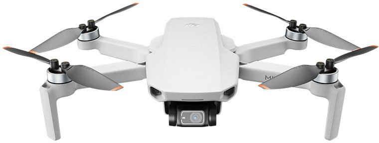 dji »MINI 2 Fly More Combo« Drohne (4K Ultra HD, Ultraleichter und faltbarer Drohnen, 3-Achsen-Gimbal mit 4K-Kamera, 31 Minuten Flugzeit, OcuSync 2.0 HD-Videoübertragung, QuickShots mit DJI Fly App)