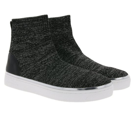 TOM TAILOR »TOM TAILOR Sneaker-Boots stylische Damen High Top Schuhe Stiefel Freizeitschuhe Schwarz« Sneakerboots