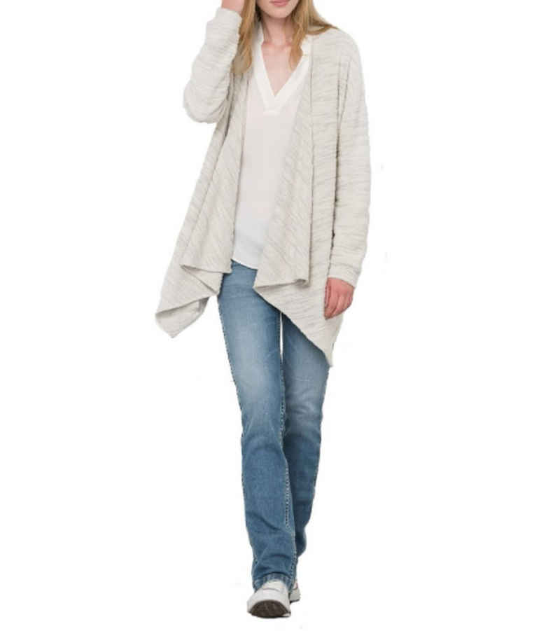 Pepe Jeans Cardigan »Pepe Jeans Vivian Strick-Jacke super kuscheliger Damen Cardigan Woll-Jacke Creme«