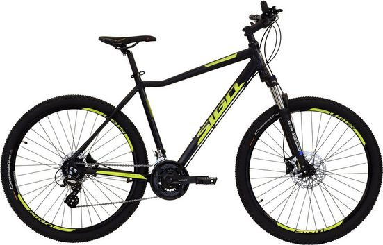 SIGN Mountainbike, 24 Gang Shimano ALTUS RD-M310 Schaltwerk