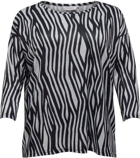 ONLY CARMAKOMA Print-Shirt »Alba« in verschiedenen Designs - jedes Teil ein Unikat