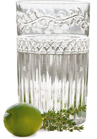 Longdrinkglas Glas Recycling-Glas 6 vn...
