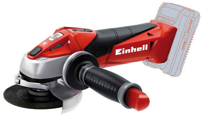 Einhell Akku-Winkelschleifer »TE-AG 18 Li-Solo«, max. 8500 U/min, Power X-Change, 115 mm, 18 V, ohne Akku