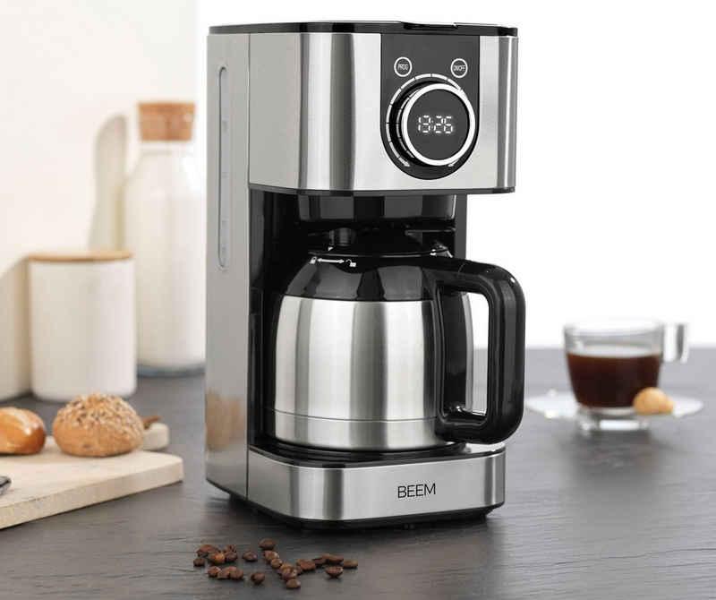 BEEM Filterkaffeemaschine FRESH-AROMA-SWITCH Thermo, 1,25l Kaffeekanne, Permanentfilter
