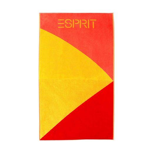 Esprit Strandtuch »Strand«, Stylisches Design