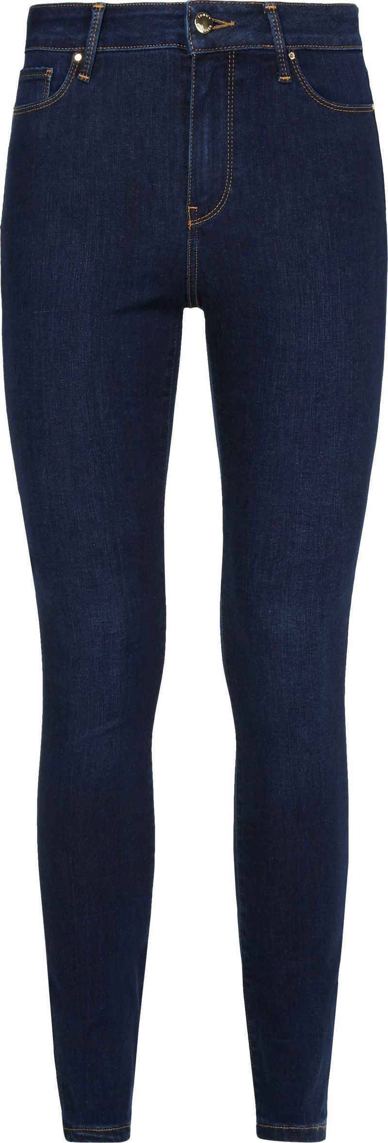 Tommy Hilfiger Curve Skinny-fit-Jeans »CRV FLEX HARLEM U SKINNY HW IZZA« mit Tommy Hilfiger Curve Logo-Badge