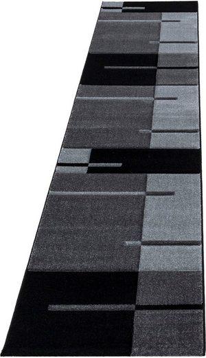Läufer »Hawaii 1310«, Ayyildiz, rechteckig, Höhe 13 mm, handgearbeiteter Konturenschnitt, 80cm x 300cm (BxL)