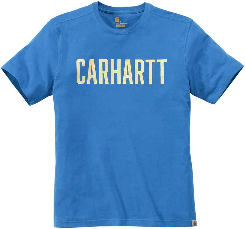 Carhartt T-Shirt »SOUTHERN BLOCK LOGO T-SHIRT S/S« Kurzarm, mit Logo auf der Brust
