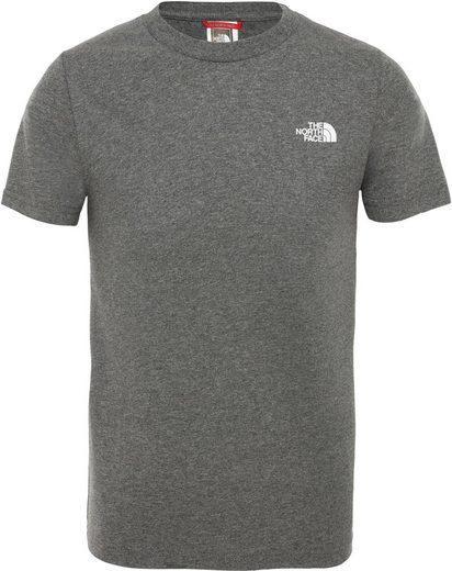 The North Face T-Shirt »Simple Dome Kurzarm T-Shirt Jungen«