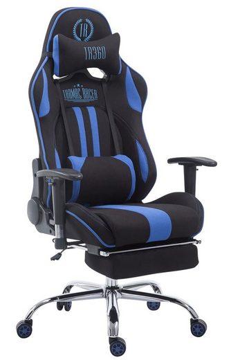 CLP Gaming Chair »Limit Stoff«, mit/ohne Fußablage