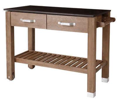 Dehner Pflanztisch »Premium Windsor, 110 x 55 x 84 cm, FSC® Holz«