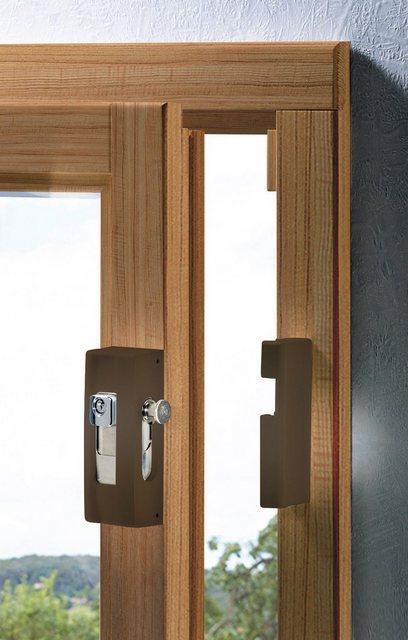 Burg-Wächter Fenster- & Türsicherungen BLOCKSAFE B1 Farbe: braun
