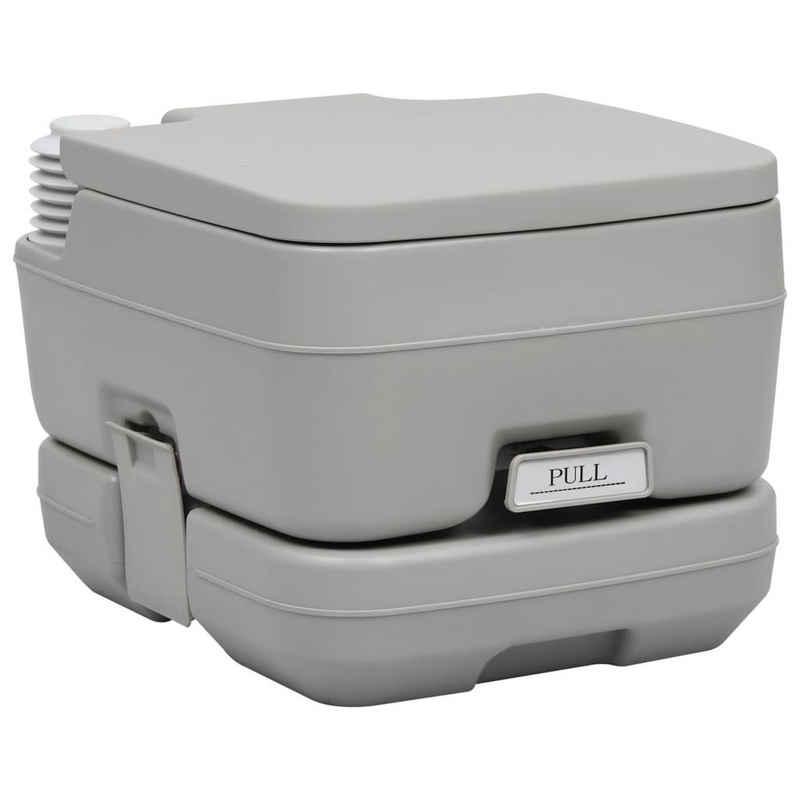 vidaXL Campingtoilette »vidaXL Campingtoilette Tragbar Mobile Chemietoilette Toilette WC 10/20+10L«