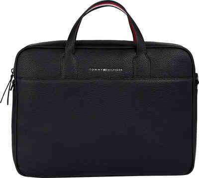 Tommy Hilfiger Messenger Bag »ESSENTIAL PU COMPUTER BAG«, mit gepolstertem Laptopfach