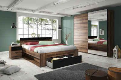 Schlafzimmer-Set »Beta«, (4-St)