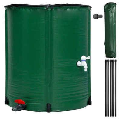 ECD Germany Regentonne »faltbar grün, Ø 60x70 cm, aus 500D PVC«