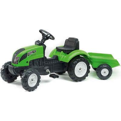 Falk Spielzeug-Traktor »Trettraktor mit Hänger, rot«