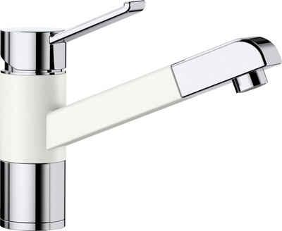 Blanco Küchenarmatur »ZENOS-S« Hochdruck, mit ausziehbarem Auslauf