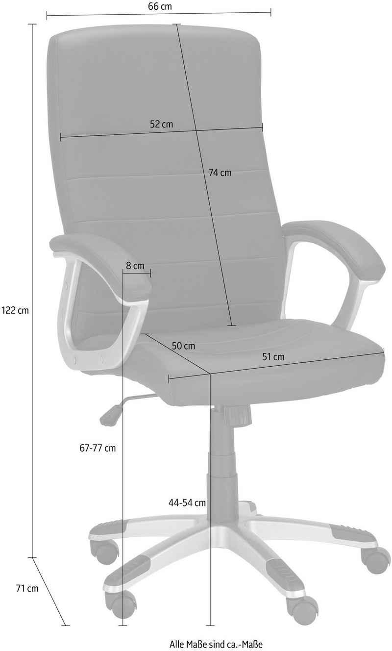 Chefsessel »Willis« (1 Stück), Sitzhöhe 44-54 cm