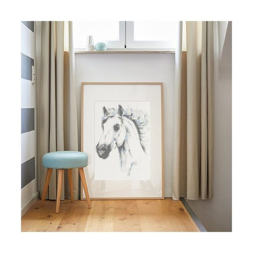 Dot On Malvorlage »dot on art - animals - horse, 50 x 70 cm«