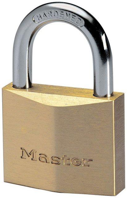 Master Lock Vorhängeschloss, Sicherheitsklasse 6, Massivmessing
