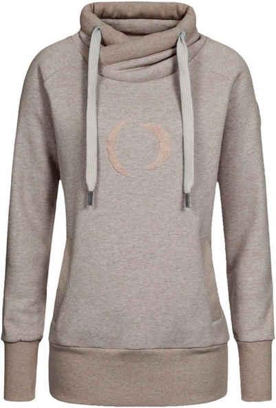 DEPROC Active Kapuzensweatshirt »SWEAT ISLAY WOMEN« modischer Allover-Print