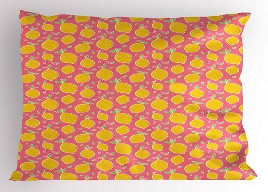 Abakuhaus Kissenbezug »Dekorativer Standard King Size Gedruckter Kissenbezug,«, Zitronen Sour und Juicy Fruit