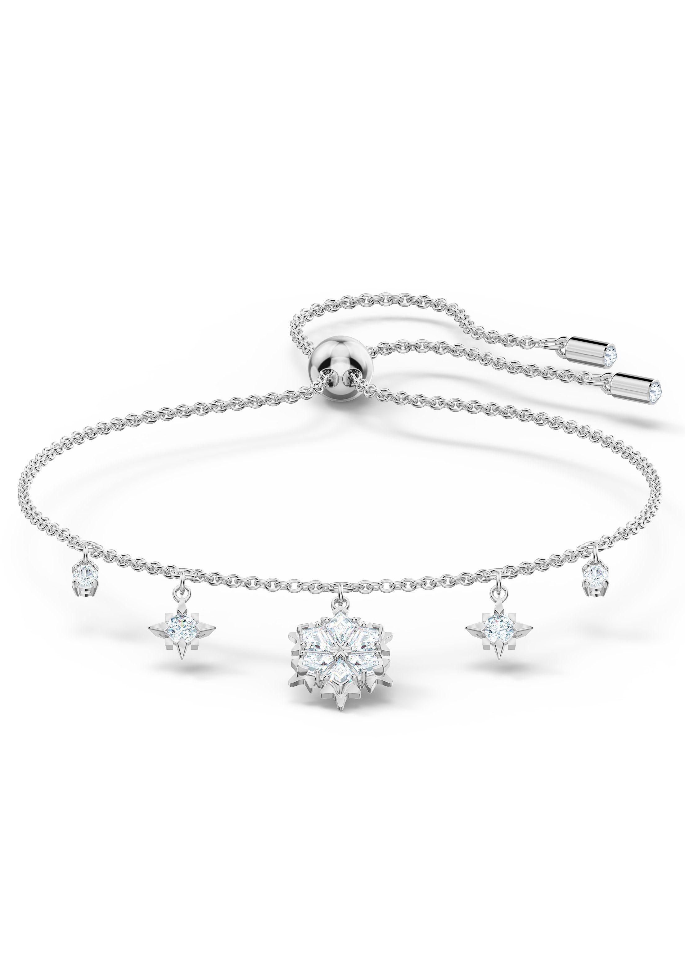 Swarovski Armband »Magic, weiss, rhodiniert, 5576695«, mit Swarovski® Kristallen online kaufen   OTTO
