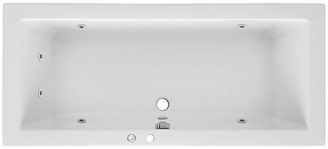 Badewannen und Whirlpools - OTTOFOND Whirlpool Badewanne »Cubic«, (Komplett Set, 3 tlg), Typ 1, chrom  - Onlineshop OTTO